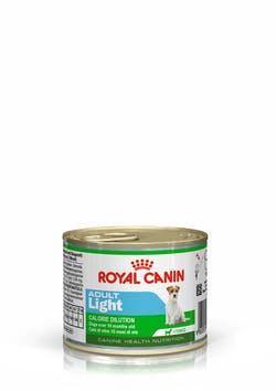 Влажный корм (паштет) Роял Канин для взрослых собак мелких пород возрастом от 10 месяцев до 8 лет предрасположенных к полноте, Adult Light, 12*195 г, Royal Canin