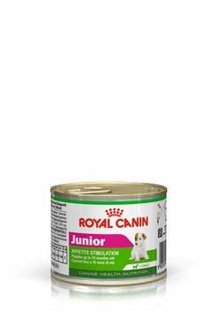 Влажный корм (паштет) Роял Канин Junior для щенков собак мелких пород возрастом до 10 месяцев, 12*195 г, Royal Canin