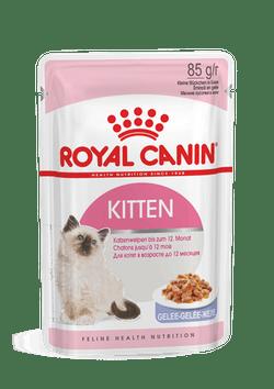 Паучи Роял Канин для котят возрастом от 4 до 12 месяцев Kitten, 24*85 г, в ассортименте, Royal Canin