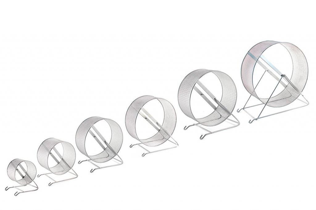 Дарелл Металлическое беговое колесо с мелкой сеткой, в ассортименте, Darell