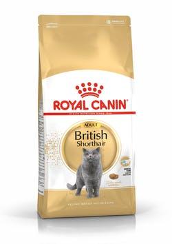 Корм Роял Канин сухой для британских короткошерстных кошек старше 12 месяцев, British Shorthair Adult, в ассортименте, Royal Canin