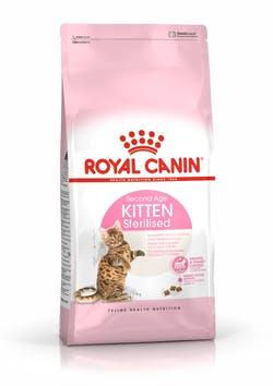 Корм Роял Канин сухой для стерилизованных котят до 12 месяцев Kitten Sterilised, в ассортименте, Royal Canin