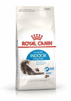 Корм Роял Канин сухой для домашних длинношерстных кошек в возрасте от 1 до 7 лет Indoor Long Hair 35, в ассортименте, Royal Canin