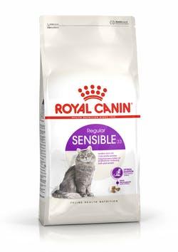Корм Роял Канин сухой для кошек с чувствительной пищеварительной системой в возрасте с 1 года до 7 лет Sensible 33, в ассортименте, Royal Canin
