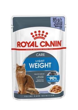 Влажный корм (паучи) Роял Канин для кошек склонных к полноте Ultra Light, 12*85 г, в ассортименте, Royal Canin