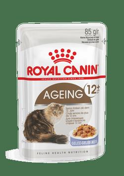 Влажный корм (паучи) Роял Канин для кошек старше 12 лет Ageing 12+ (мелкие кусочки), 12*85 г, в ассортименте, Royal Canin
