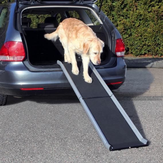 Трикси Пандус-трап 155 см СКЛАДНОЙ для собак весом до 75 кг, алюминий/пластик, Trixie