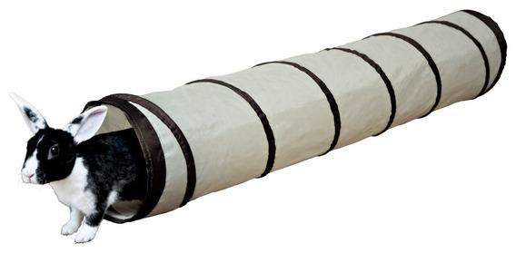 Трикси Тоннель для кроликов и хорьков, диаметр 19 см, длина 117 см, нейлон, Trixie