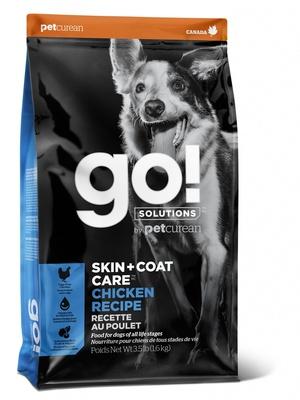 Корм Гоу цельнозерновой для щенков и собак, Курица/Фрукты/Овощи, Refresh + Renew Chicken Dog Recipe, в ассортименте, Go!