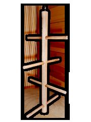 Подвесная круговая лесенка для птиц Елочка, дерево, 2 размера, Россия