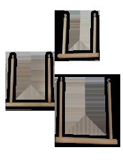 Качели деревянные классические, 3 размера, Россия