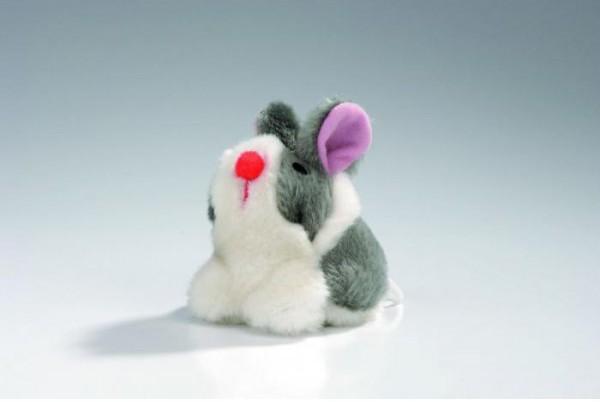 Игрушка для кошек Кролик вибрирующий, 10*8 см, плюш, I.P.T.S.