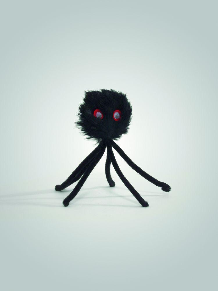 Игрушка-дразнилка для кошек Паук, 15 см, плюш, I.P.T.S.