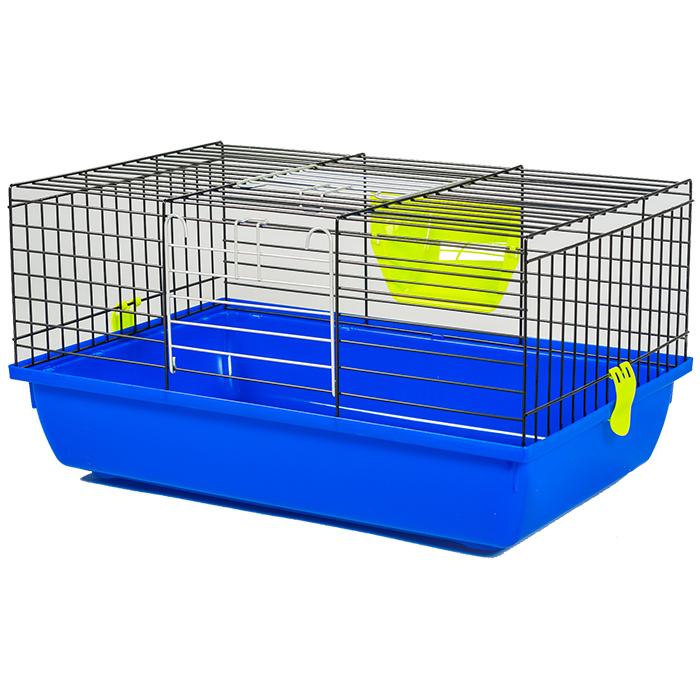 ИнтерЗоо Клетка Krolik для морских свинок, кроликов, 59*36*31 см, в ассортименте, InterZoo