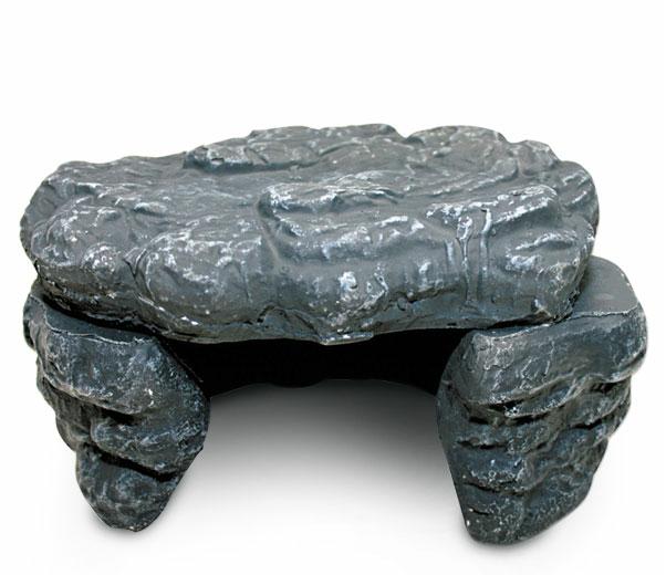 РептиЗоо Камень-Пещера керамическая HC0112 с обогревом 12w, ReptiZoo