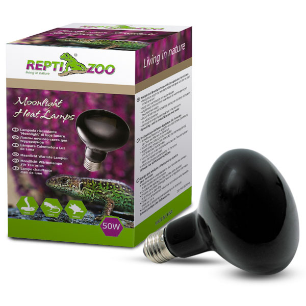 РептиЗоо Лампа ночная Repti Nightlow, в ассортименте, ReptiZoo