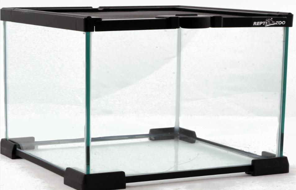 РептиЗоо Мини-террариум стеклянный, 3 размера, ReptiZoo