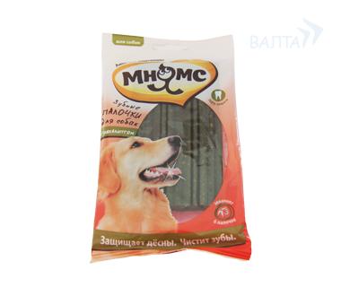МНЯМС Зубные палочки для собак с эвкалиптом, 120 г