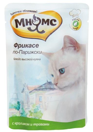 МНЯМС Паучи для взрослых кошек, в ассортименте, 85 г