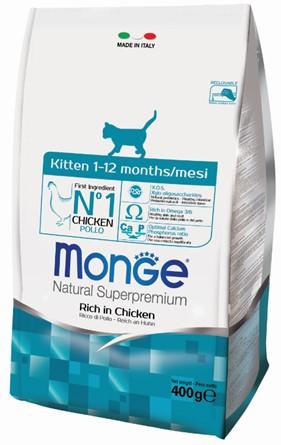 Монже Корм для котят и беременных кошек, Kitten, в ассортименте, Monge