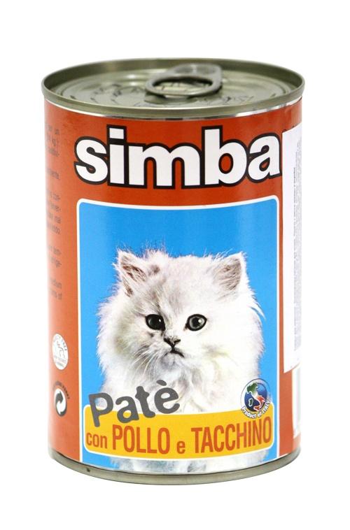 Консервы Симба для взрослых кошек, 400 г, Паштет с кроликом, Monge