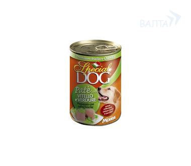 Паштет Special Dog для собак, 400 г, в ассортименте, Monge