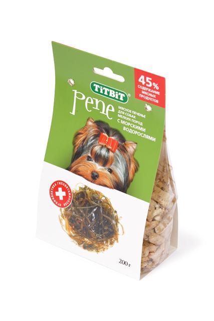 Титбит Печенье для собак мелких пород, 200 г, в ассортименте, TiTBiT