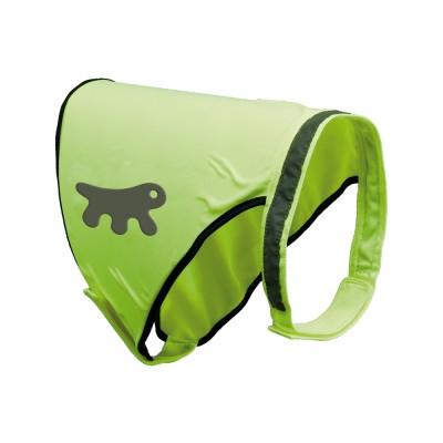 Ферпласт Нейлоновый светоотражающий жилет для собак Reflex Jacket Small, шея 24-45 см, живот 42-55 см, Ferplast