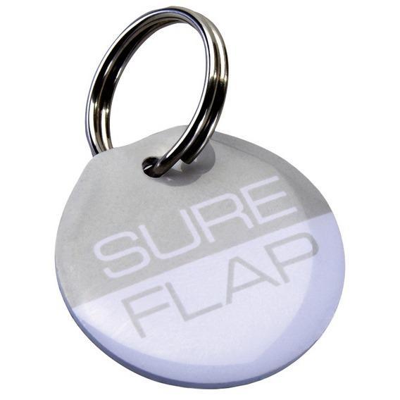 Трикси Ультралегкая бирка радиочастотной идентификации на ошейник, диаметр 2,5 см, 2 шт/уп., для дверок SureFlap, Trixie