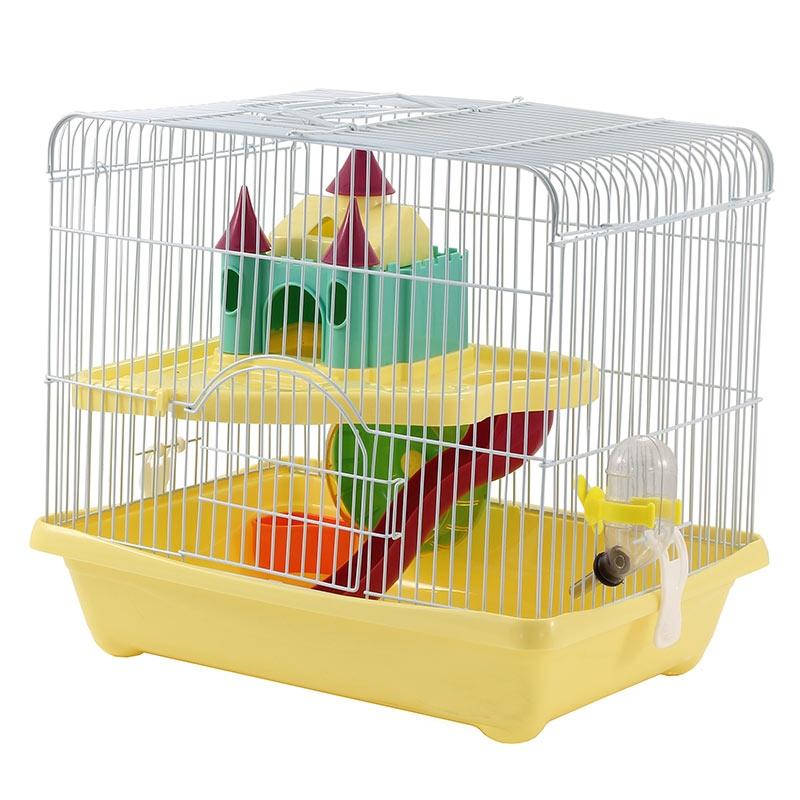 Триол Клетка двухэтажная для мелких грызунов 36*26*31 см, в ассортименте, Triol
