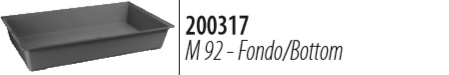 Ферпласт Пластиковый поддон M92 для клеток Casita 100, Arena 100, Rabbit 100, Ferplast