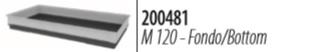 Ферпласт Пластиковый поддон M 120 для клеток Grand Lodge Classic 140, Arena 120, Krolik Extra large, Ferplast
