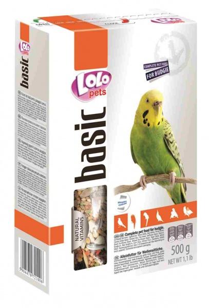ЛолоПетс Корм для волнистых попугаев полнорационный, 2 весовки, LoloPets