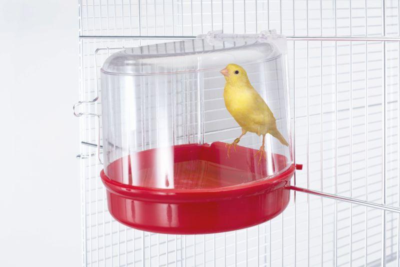 Имак Внешняя купалка для птиц Bagno Esterno, 12,5*10,5*11,5 см, в ассортименте, Imac