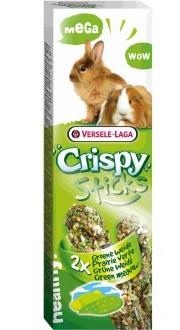Верселе Лага Крекер (палочка на деревянном стержне) Crispy Зеленый луг для кроликов и морских свинок, Versele-Laga