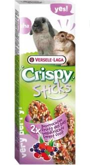 Верселе Лага Палочки для кроликов и шиншилл Crispy с лесными ягодами, 110 г, Versele-Laga