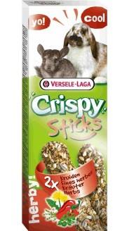 Верселе Лага Палочки для кроликов и шиншилл Crispy с травами, в ассортименте, Versele-Laga