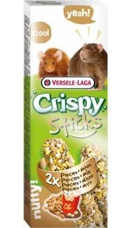 Верселе Лага Крекеры для крыс и мышей Crispy с попкорном и орехами, 110 г, Versele-LagaКрекеры