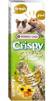 Верселе Лага Крекеры для песчанок и мышей Crispy с подсолнечником и медом, 110 г, Versele-Laga