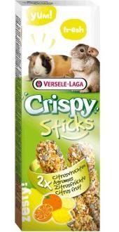 Верселе Лага Палочки для морских свинок и шиншилл Crispy с цитрусовыми, 2 шт/уп, 110 г, Versele-Laga