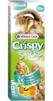 Верселе Лага Крекер (палочка на деревянном стержне) Crispy с экзотическими фруктами для хомяков и белок, 2*55 г, Versele-Laga