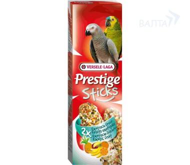 Верселе Лага Крекер (палочка на деревянном стержне) Prestige для крупных попугаев, в ассортименте, 2*70 г, Versele-Laga