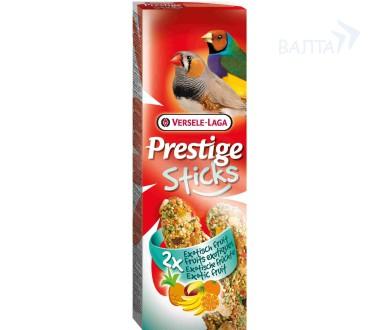 Верселе Лага Крекер (палочка на деревянном стержне) Prestige с экзотическими фруктами для тропических птиц, 2*30 г, Versele-Laga