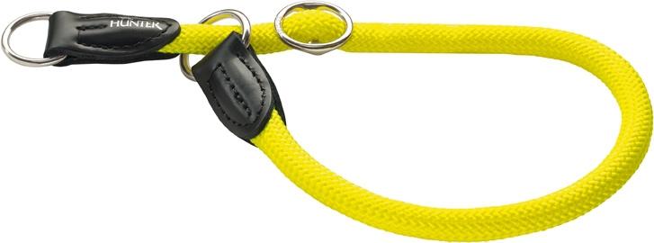 Хантер Ошейник-удавка для собак Freestyle Neon (Фристайл Неон), нейлон, 3 размера, желтый неон, Hunter