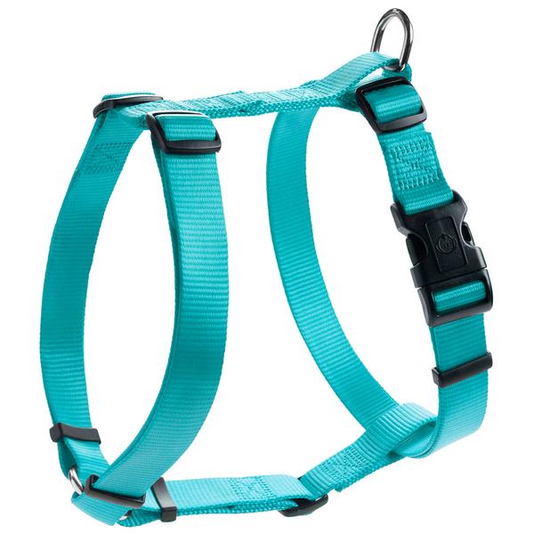 Хантер Шлейка для собак Ecco Sport S бирюзовая, обхват  шеи 30-46 см, обхват груди 38-52 см, нейлон, Hunter