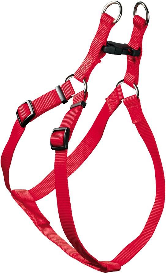 Хантер Шлейка для собак Ecco Quick (Эко Квик) красная, нейлон, 3 размера, Hunter
