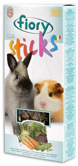 Фиори Лакомство для кроликов и морских свинок, в ассортименте, 100 г (2 шт*50 г), Fiory