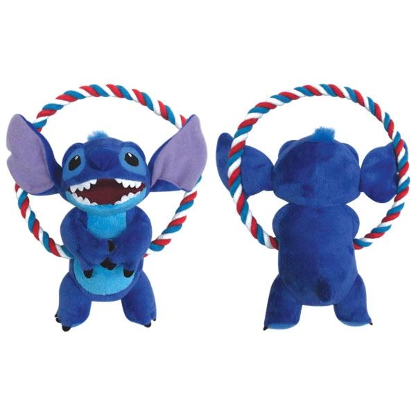 Триол-Дисней Игрушка мягкая c круглым канатом Stitch, 20 см, полиэстер/хлопок, Triol-Disney