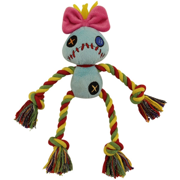 Триол-Дисней Игрушка мягкая с канатом Kukla, 15 см, полиэстер/хлопок, Triol-Disney