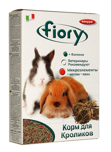 Фиори Корм Pellettato гранулированный для кроликов, 850 г, Fiory